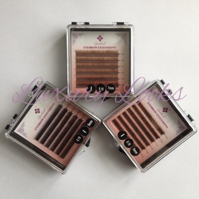 Eyebrow Extensions Tray